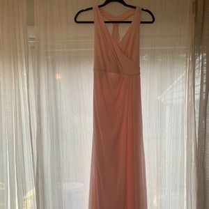 Light Pink Dress with draping
